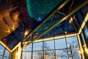 fiber optik aydınlatma, fiber optik tavan, fiber optik zemin, fiber optik kayan yııldız galeksi tavan,uzay tavan görselleri, gergi tavan modelleri
